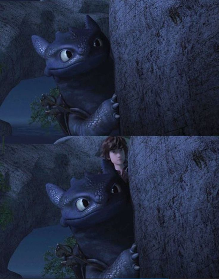 Hiccup and Toothless Night Spying on Heather from Dreamworks Dragons Race to the Edge