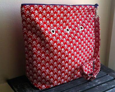 Awesome yarn bag by Yarn Pop