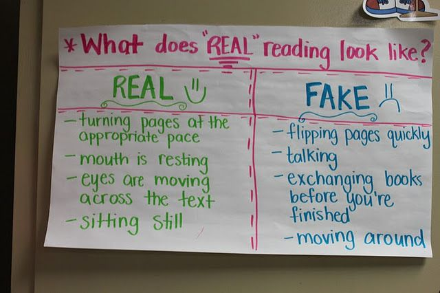 Real Reading during workshop: Reading Charts, Language Art, Schools Stuff, Real Reading, Reading Anchors Charts, Readers Workshop, Fake Reading, Classroom Ideas, Kid