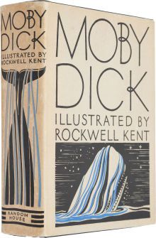 Moby Dick or theWhale. New York: Random House, 1930. First trade edi...