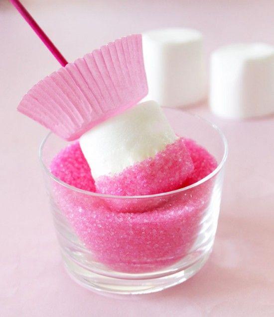 Ballerina Marshmallow Pops Tutorial                                                                                                                                                                                 More