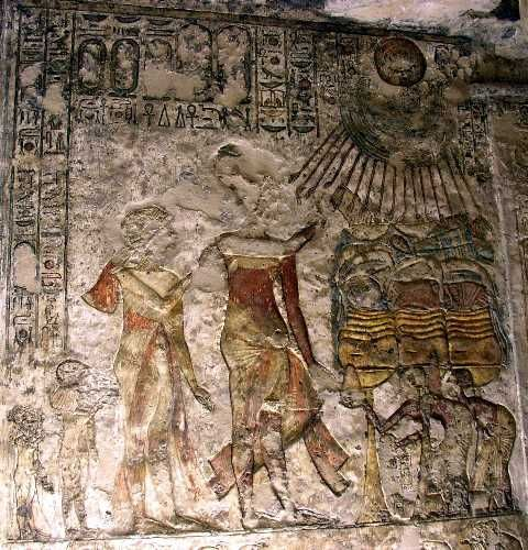 10 best images about mystery of history nefertiti for Egyptian wall mural