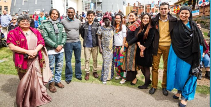 You are invited to a New Migrants Morning Tea. Saturday 12th Sept 2015 Time 10;00am-12 noon  Place: Ballarat Town Library... For new migrants who are keen to : Have Fun, Meet New people and Be Sociable  Contacts: Mee-Ling Doon at Federation University ph 5327 8089  or Christine Reupert at Ballarat Community Health Mobile 0459812854  or Multicultural Info Place at Ballarat Library Click picture for flyer