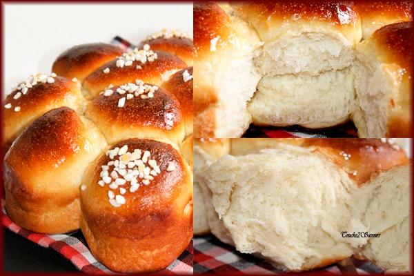Brioche très légère au fromage blanc A tester très rapidement... !