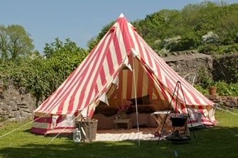Bell Tent - The Glam Camping Company - Homes & Bargains - The latest clearance, discounts, sales, vouchers and outlets for the home