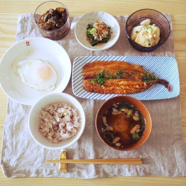 陶器/小皿/小鉢/ダイニングテーブル/ダイニング/和食…などのインテリア実例 - 2015-09-19 11:26:30 | RoomClip(ルームクリップ)