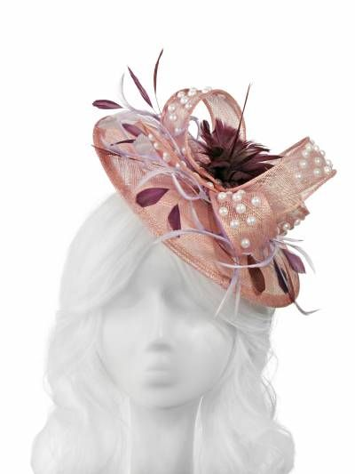 Weddings! Whether you are the bride, part of the bridesmaids squad or you just want to look your best at these special events, NITA SAO's unique accessories are a must !  #handmade #fascinators #hatinators #fashion #designer #houseofnitasao  Nitasao.com