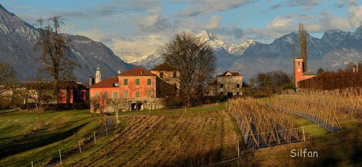Villa Buzzati San Pellegrino Belluno Dolomiti Veneto Italia foto Silvano Fantini