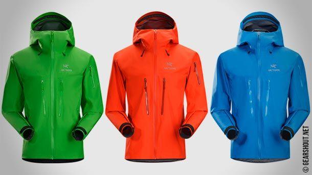 Arc'teryx выпустила обновлённую версию флагманской хардшелл куртки Alpha SV Jacket