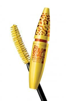 Maybelline The Colossal Volum' Express Cat Eyes Mascera... Seriously it's the best mascara I've ever used. It's better than the Falsies.