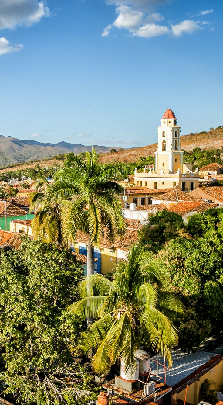 The best view in Trinidad comes from the top of the museum tower in the center of downtown. Click to see more photos from Trinidad Cuba at http://www.divergenttravelers.com/cuba-photos-reveal-diversity/