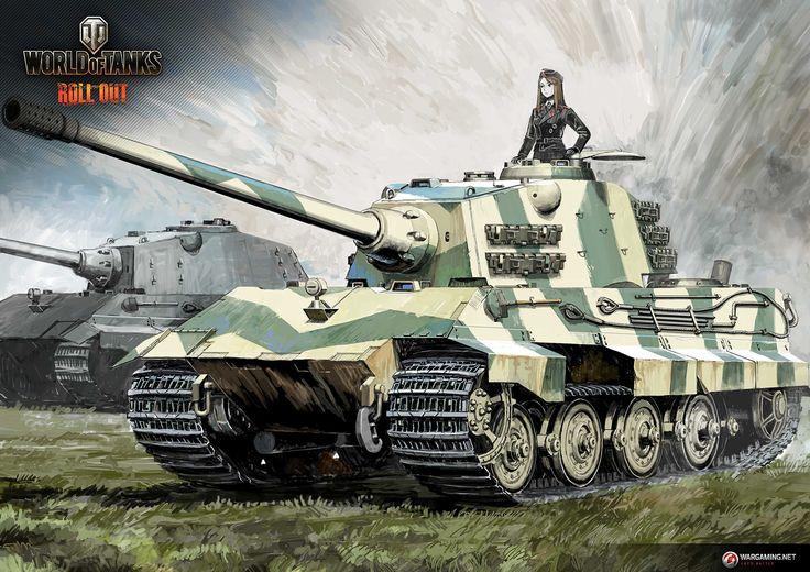 "Tank Illustrations ""Artist's Choice"" Part9: E 75 / sdkfz   Illustration Column   World of Tanks"