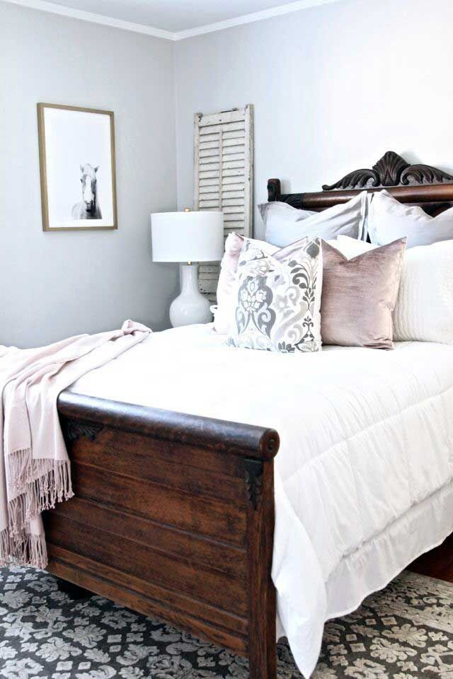 56 Gorgeous Dark Traditional Bedroom Decor In 2020 Traditional