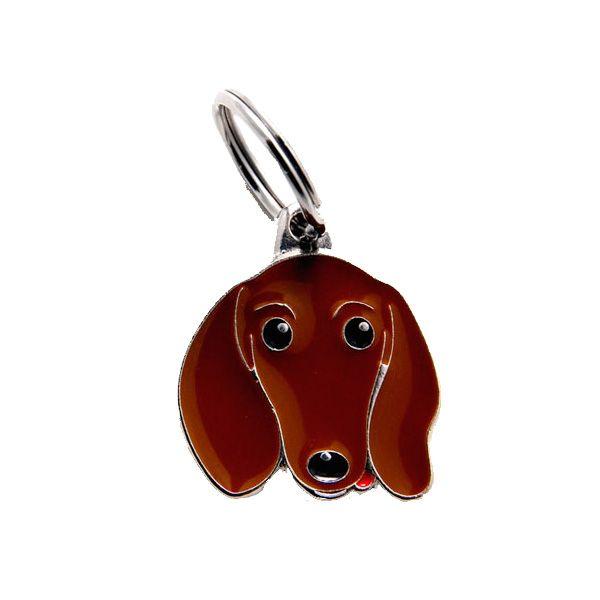 Placa Identificativa Perro Dachshund Recomendamos grabar el nombre de su mascota y un teléfono fácil de contactar. Una vez seleccionada lachapa, los datos a grabardeber&aa...