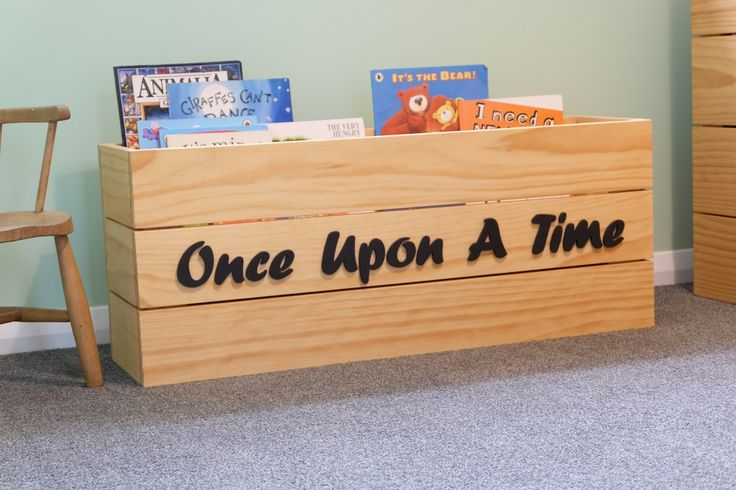 Once Upon A Time Book Case