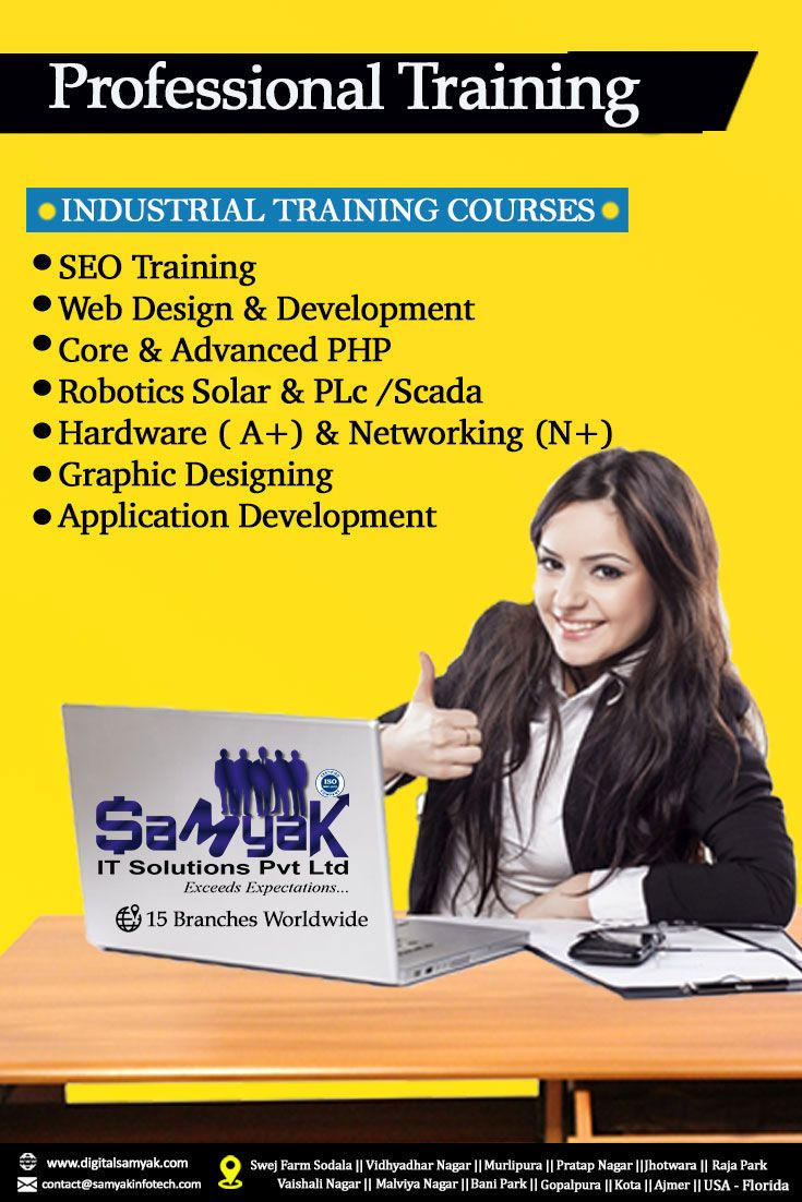 Apply For Internship Program Of Samyak It Solutions Samyak Computer Classes Offering Various Indus Web Development Design Application Development Seo Training
