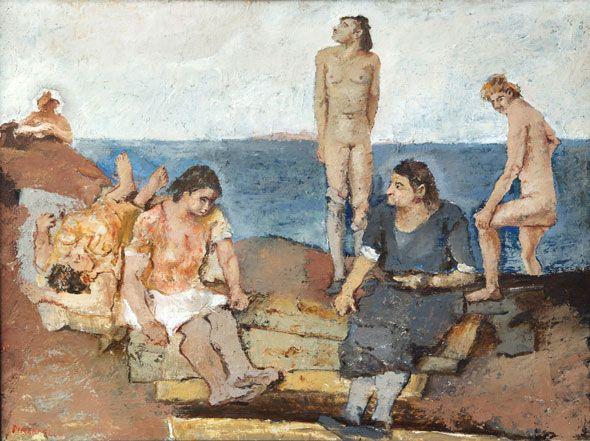163. Pirandello, Fausto - Donne al mare