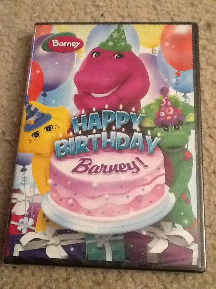 Barney Happy Birthday Barney Dvd 2014 Happy