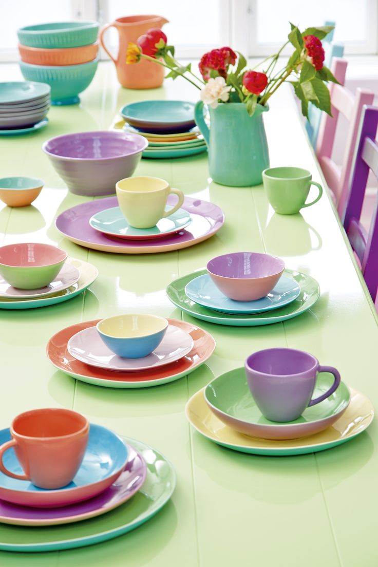 Ceramic tableware from RICE - Made with <3