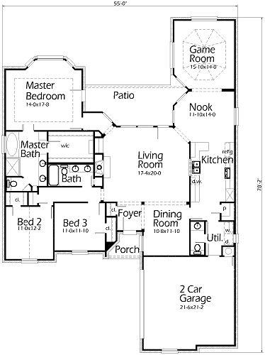 431 best floor plans images on pinterest | floor plans, home design