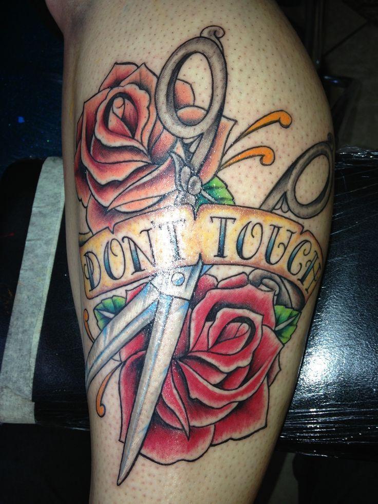 Scissors tattoo studio 13 Raul Rubalcava | Tattoo ideas | Pinterest