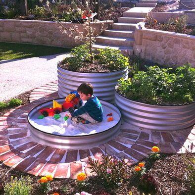 Backyard Sandbox Ideas wondering what to do with your empty backyard try these 8 diy outdoor play equipment 25 Best Sandbox Ideas On Pinterest Sandbox Sandpit Ideas And Kids Sandbox