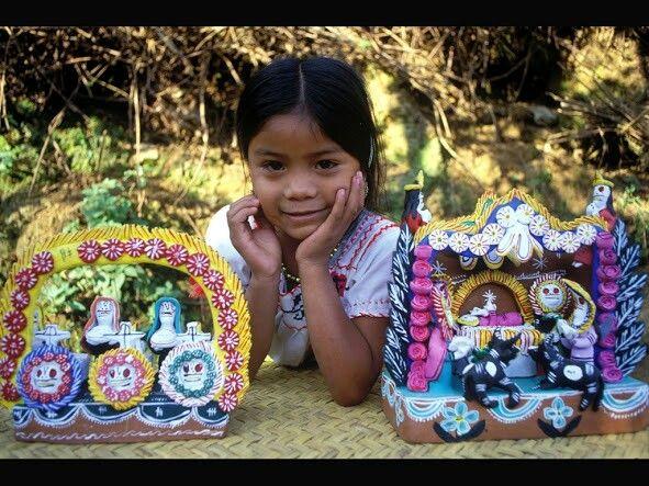 Arte mexicano en forma de artesanias.