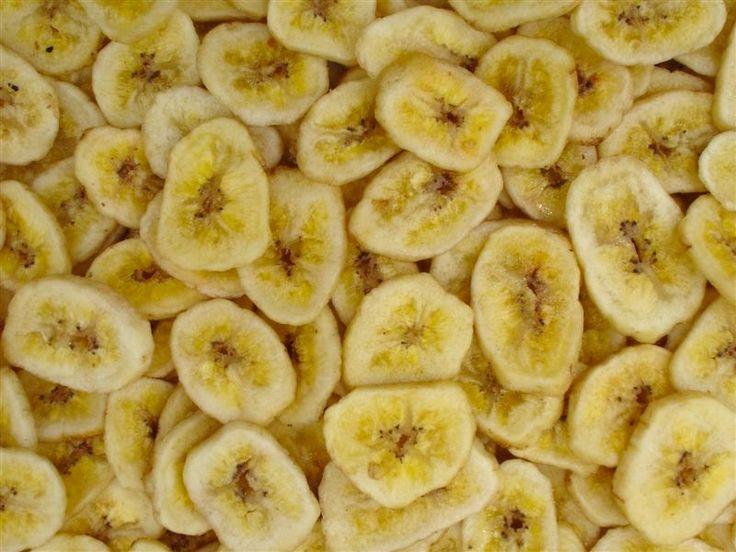 Zelfgemaakte bananenchips uit de oven - Lekker en Simpel