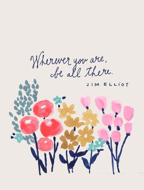 WHEREVER YOU ARE..
