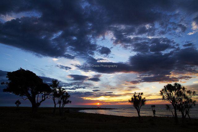 Sunrise near Glenburn Station, Wairarapa | © Elyse Childs Photography