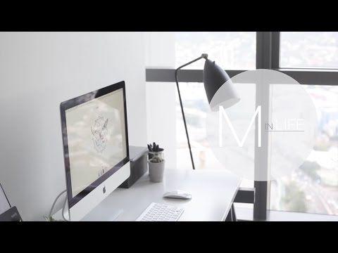 Быстрые советы по организации рабочего стола | Rachel Aust - YouTube