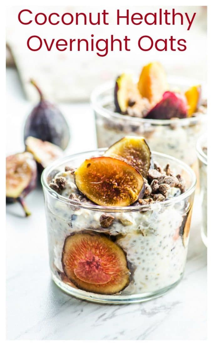 No time for breakfast? No problem!  Prepare these Easy Overnight Oats at night (it won't take you more than 5 minutes!) and wake up to a nutritious breakfast that you can eat at home or take it to go. So you don't have to skip the most important meal of the day! via @ourpassion4food