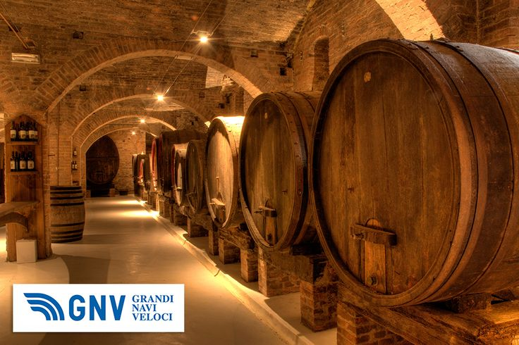 #Wine cellar in the #Benedictine #Abbey of #Monte #Oliveto #Maggiore, large #monastery in #Tuscany, #Italy.  Discover #GNV routes from/to #Italy here: http://www.gnv.it/en