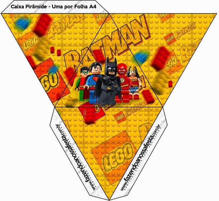 Lego Película: Cajas para Imprimir Gratis. | Ideas y material gratis para fiestas y celebraciones Oh My Fiesta!