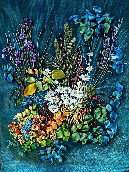 Flowers in the Night by Margarita Tikhonov, St. Petersburg, Russia