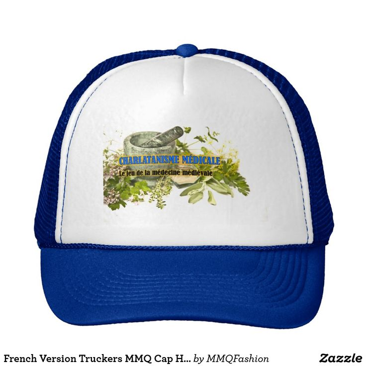 French Version Truckers MMQ Cap Hat