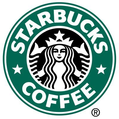 The 'mermaid' in the Starbucks logo is recognisable everywhere. It is simplistic and can stand alone without the typeface. The starbucks typeface isn't too recognisable as it is very simple and looks to be quite standard. However, when paired with the colours and the image it works well. The colour scheme for Starbucks connotes fair-trade and feels earthy, which works well. This logo is strong and could work well in any colour and size.