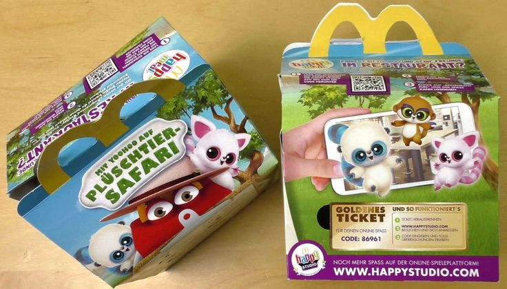 Happy Meal YooHoo and Friends | McDonalds Big Rösti | Chicken McNuggets
