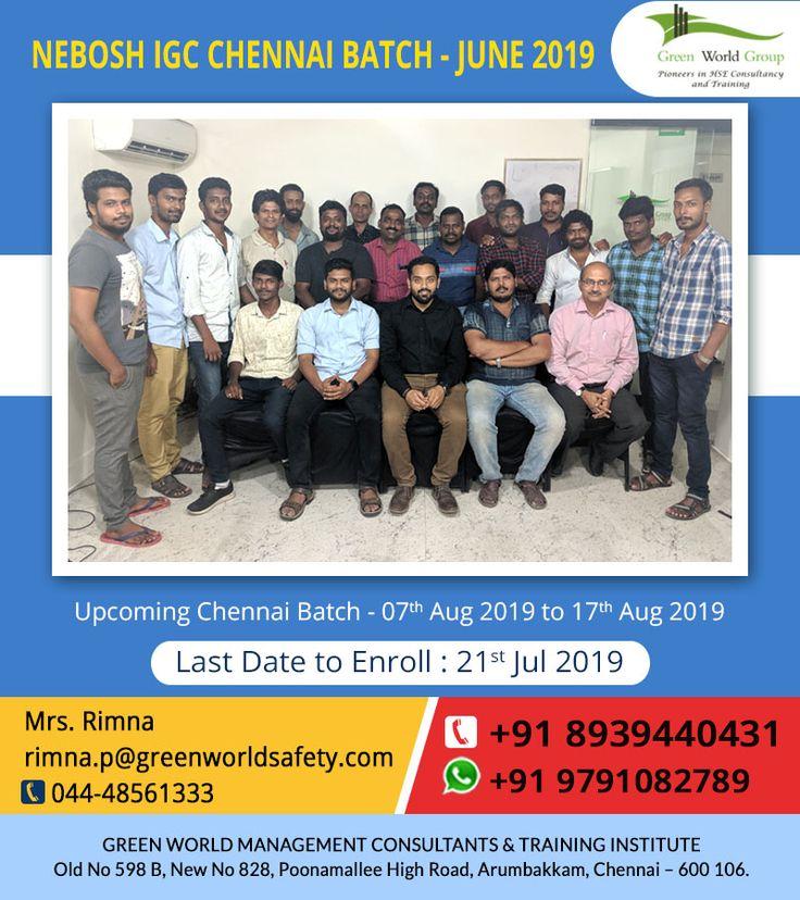 NEBOSH Course in Chennai Safety courses, Chennai, Courses