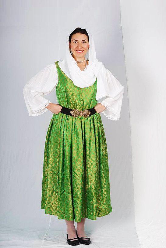 Samos Sleeveless summer dress with Bolia