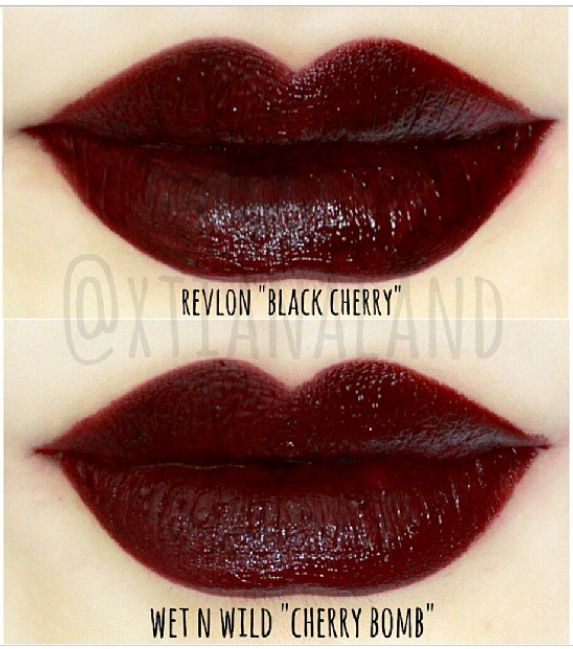Just got Revlon's Black Cherry today! I need a dark lip for work, and this one is perfect.