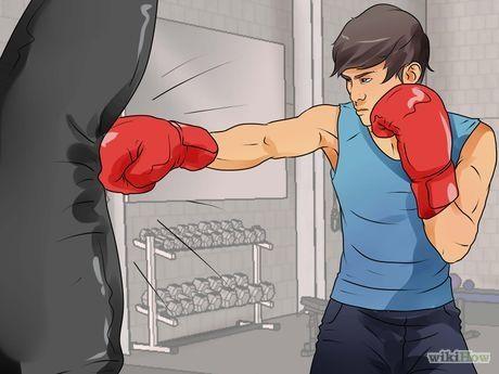 Cómo ejercitarte con un saco de boxeo: 28 pasos