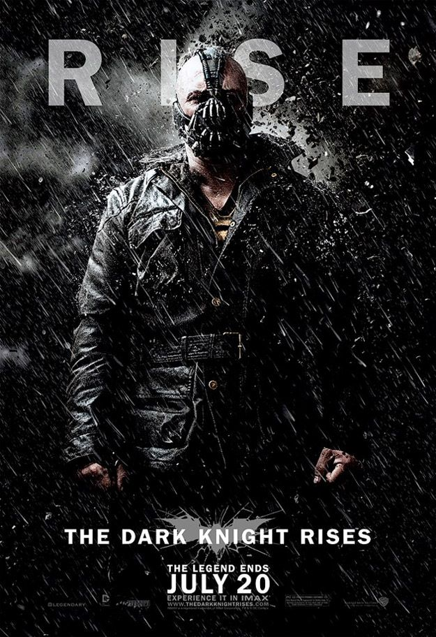 New 'The Dark Knight Rises' Posters - BaneDark Knight
