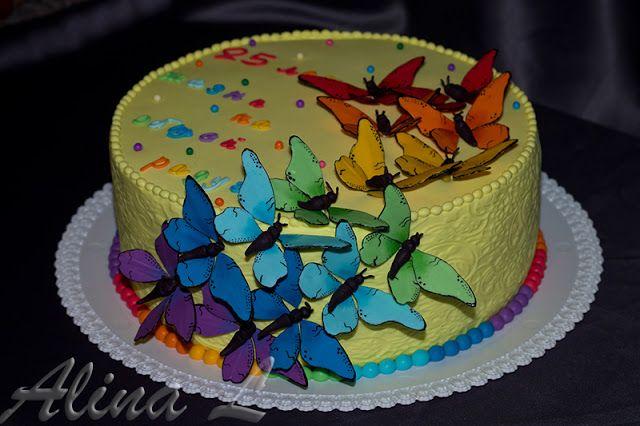 Оригинальный торт на новый год