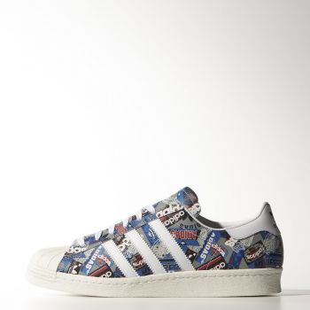 adidas Originals SUPERSTAR 80s B35768 Εμπριμέ με 109.95€ !!! | muststore.gr
