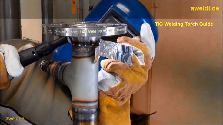 Welding TIG Welding with a lighter Burner TIG Welding Stainless Steel Ge...