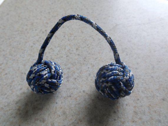 Blue Camo Paracord Begleri / Worry Beads by TGPBegleri on Etsy