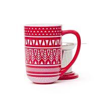 Red Sweater Nordic Mug // DAVID'S TEA