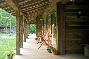 Rustic Timber Porch
