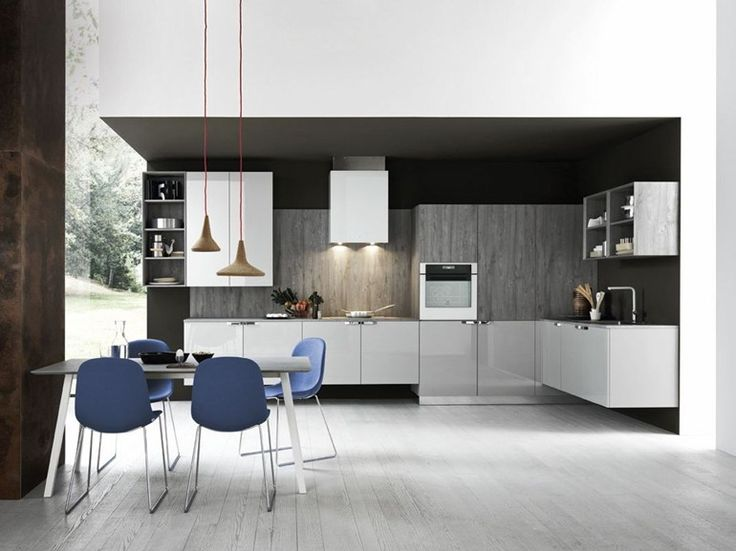 Linear Fitted Kitchen ARIEL   COMPOSITION 2   Cesar Arredamenti